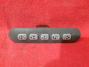2007 2008 2009 2010 Ford Edge Lincoln MKX Keyless Entry Number Key Pad Black