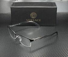 Versace VE1241 1261 MATTE BLACK DEMO LENS 54 mm Men's Eyeglasses