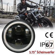 Motorrad 5.75'' Scheinwerfer LED Universal Haupt Scheinwerfer für Harley Honda