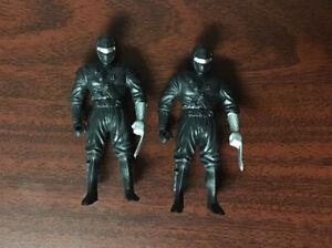 1995 Chap Mei Black Ninja Warrior Set Of 2