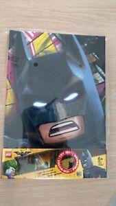 LEGO BATMAN movie journal lumineux carnet notes joker papeterie 21x15/NEUF/jpj27