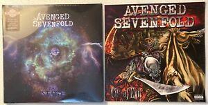 Avenged Sevenfold – The Stage Ltd Ed 2-LP Purple Vinyl SEALED w/2 Promo Posters