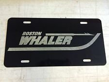 BOSTON WHALER Car Tag Diamond Etched on Aluminum License Plate