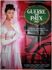 GUERRE ET PAIX 1805 Affiche Cinéma Originale / Movie Poster Guy Gérard Noël