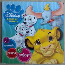 Disney Animal Friends: A Wonderful World of Color - Children's Board Book Simba