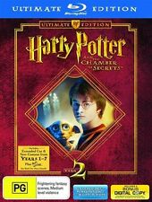 Harry Potter And The Chamber of Secrets (Blu-ray, 2009, 3-Disc Set)