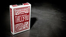 RED TALLY-HO TITANIUM Theory11 metallic deck Playing Cards tally ho foil magenta