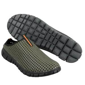 PROLOGIC BANK AND BIVVY SLIPPERS IN GREEN FOR CARP FISHING FREE BAIT BOOK