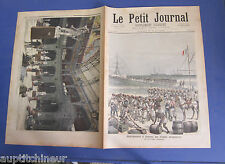 Le petit journal 1892 78 débarquement à Kotonou des troupes sénégalaises