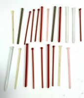 21 Vintage Swizzle Sticks drink stirrers Cocktail bar restaurant