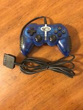PS2 Mad Catz Dual Force 2 Pro Game Controller For PS1 & PS2 Model 8226 Tested