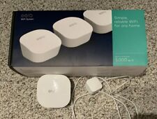 Eero Wi Fi System 4 Pack 5,000+ SQ. Ft. Excellent Condition - Original Box etc