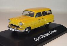 Schuco 1/43 Opel Olympia Caravan Deutsche Bundespost OVP #3820