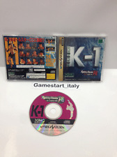 K-1 FIGHTING ILLUSION SHOW - SEGA SATURN - JAP - USATO - USED VIDEOGAMES