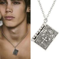 Victorian style Miniature Holy Bible Necklace Christian Fellowship Unisex New