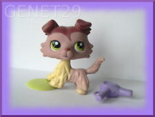 AUTHENTIC LITTLEST PETSHOP LPS  # 1723  COLLIE DOG COLLEY  HASBRO