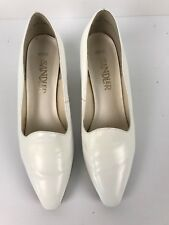 Sandler  Womens Shoes Leather Slip On  Size 81/2 Heels Wedding