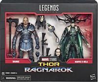 "Marvel Legends Skurge And Hela 6"" Action Figures Thor Ragnarok 80 Anniversary"