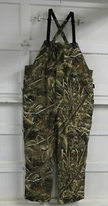 Cabela's Dri-Fowl II Extreme Insulated Bibs 4MOST DRY Thinsulate Realtree 2XL