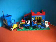 Lego Fabuland Haus 3664 Polizeistation + 3639 Police Car