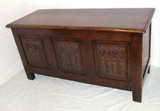 Oak Victorian Reproduction Antique Coffers