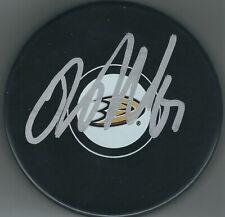 Autographed Rickard Rakell Anaheim Ducks Hockey Puck - w / Coa