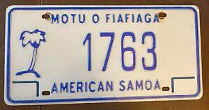 American Samoa 2008 MOTU O FIAFIAGA License Plate HIGH QUALITY # 1763
