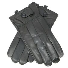 Men's Genuine Leather Winter Warm Gloves Thermal lined Driving Dress Gloves NEW