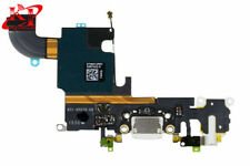 New OEM White Charging Port Headphone Jack Mic Flex Cable For iPhone 6S 4.7''