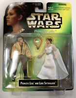 NEW Star Wars Princess Leia & Luke Skywalker Princess Leia Collection Kenner
