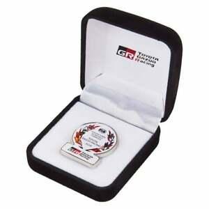Toyota Gazoo Racing WRC Rally Winning Pin Badge 2018