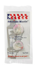 Soft Inverted Gas Light Mantle No 254 American Mantle Company Inc 3pk