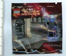 Amazing Spider-Man LEGO x1 Electro polybag NEW 5002125 Marvel Comics Superberos