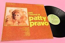PATTY PRAVO LP TUTTI I SUCCESSI ORIGINALE 1971 EX !! DEEP GROOVE TOOPPP