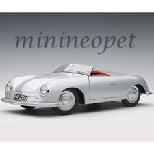 AUTOart 78072 1948 PORSCHE 356 NUMBER 1 CONVERTIBLE 1/18 MODEL CAR SILVER