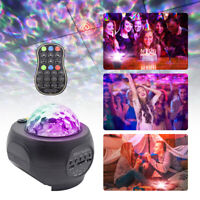 LED USB Galaxy Projector Starry Night Lamp Star Sky Projection Bluetooth Speaker