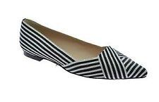 Women's Striped Ballet Flats