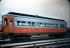 Chicago Aurora & Elgin #105  1940s 35MM SLIDE Railroad