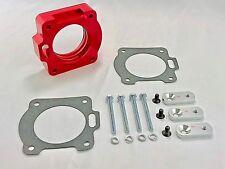 RED Billet Aluminum Throttle Body Spacer Fit 99-01 Ford Mustang 3.8L V6