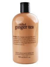 Philosophy Chilled Ginger Tea Shampoo, Shower Gel & Bubble Bath, 480ml/16oz