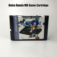 Retro Remix MD Game Cartridge For USA/ Japanese /European SEGA GENESIS MegaDrive