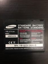 NEW SAMSUNG PHONE BATTERY AB603443CA FOR T404G, T819, SOLSTICE A887, A687 STRIVE