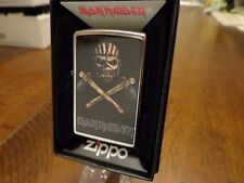 IRON MAIDEN ZIPPO LIGHTER MINT 2016