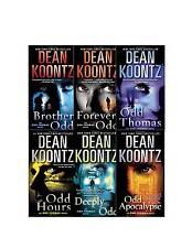 Dean Koontz Odd Thomas Collection Set 1-6 Adult Thriller Horror Fiction Series!!