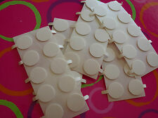Candle making bulk, 100 x 15mm *wick stickers* Free postage. Sticky dots-stickum