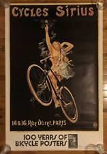 Vintage Poster Cycles Sirius Pin-up 100 Years Of Bicycle Posters Darien House 73