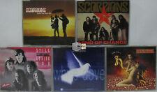 5 x Maxi CD Sammlung Scorpions ?- Hard Rock Wind of change You and i White Dove
