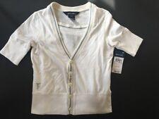 NWT Ralph Lauren Girl Polo Pony Ivory Cotton Shirt Tank Top 2-PC Set XL 16