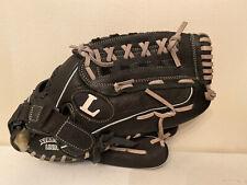 "Louisville Slugger Dynasty Series DYN1350 Black Leather Softball Glove 13.5"" RHT"
