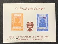AFGHANISTAN 1960 Sc#B35-36 VF MNH SOUVENIR SHEETS (W13)